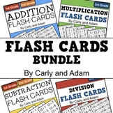Flash Card Bundle (Addition, Subtraction, Multiplication, and Division)