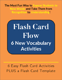 Flash Card Flow: 6 Activities to Teach New Vocabulary Words