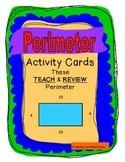 Perimeter Activity Cards