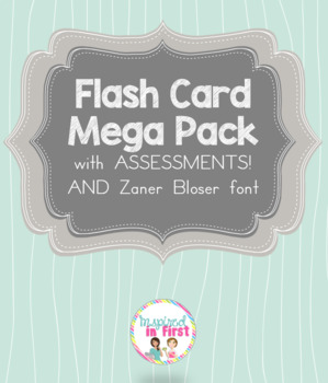 Flash Card Mega Pack with Bonus Assessments!