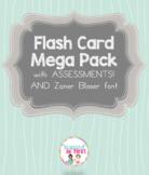 Flash Card Mega Pack with Bonus Assessments!