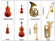 Flash Card Musical Instruments