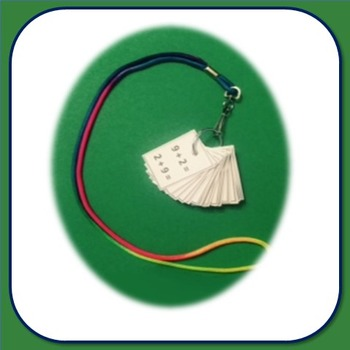 Flash Card Necklace - addition