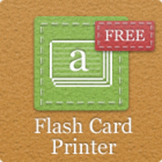 Flash Card Printer Software - FREE