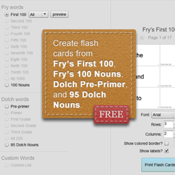 flash card printer software free by lauren devin tpt