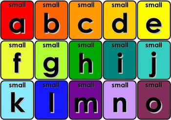 Flash Card Sets - Colors, Numbers, Alphabet