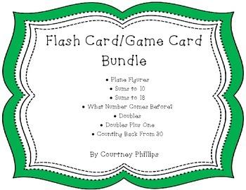 Flash Card/Game Card Bundle