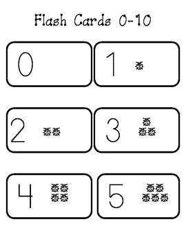 Flash Cards 0-10
