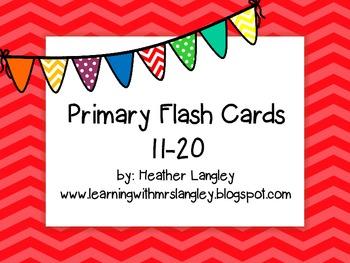 Flash Cards 11-20