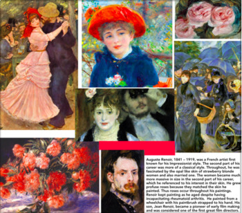 28 Printable Art Cards - Impressionism & Post-Impressionism - Art History