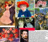 28 Printable Art Cards - Impressionism & Post-Impressionis
