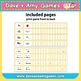 ABC Phonics Flashcards: My English Book and Me Elementary 1 (small)