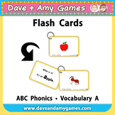 ABC Phonics Flashcards: My English Book and Me Elementary