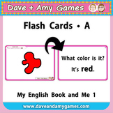Flash Cards A: My English Book and Me 1
