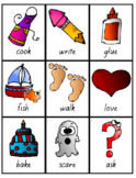 Flash Cards -Adjectives, Nouns, Verbs