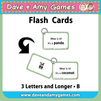 Flashcards: CVC Phonics B