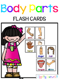 Flash Cards - Body Parts