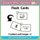 Flashcards: CVC Phonics C