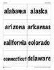 Flash Cards: COMBINED Capitals - Bundle
