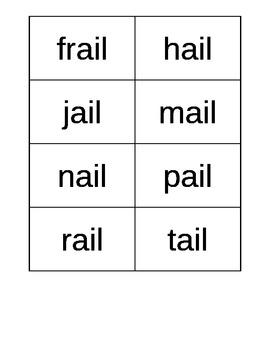 Flash Cards CVVC, CCVVCC, CVVC Vowel Combinations