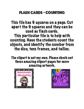 Flash Cards -Counting