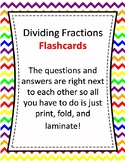 Flash Cards - Dividing Fractions