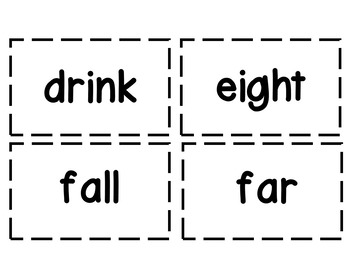 Flash Cards: Dolch 3rd Grade Sight Words