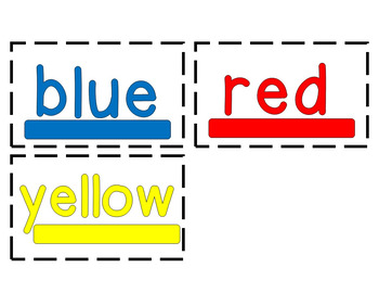 Flash Cards: Dolch Pre-Primer Sight Words