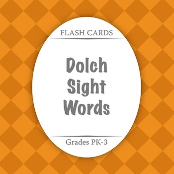 Flash Cards: Dolch Sight Words