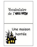 Flash Cards - Halloween Francais