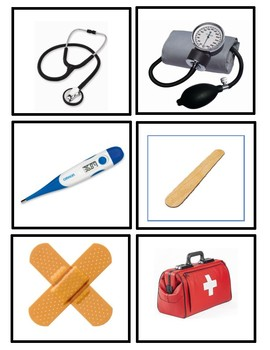 Flash Cards:  Items a Doctor Uses