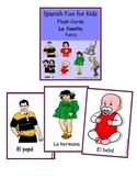 Flash Cards -La familia (family)