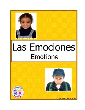 Flash Cards -Las Emociones