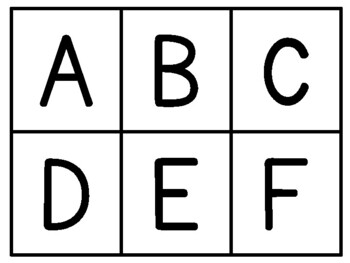 Flash Cards: Letters A-Z