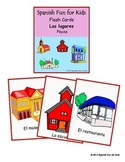 Flash Cards - Los lugares (places)