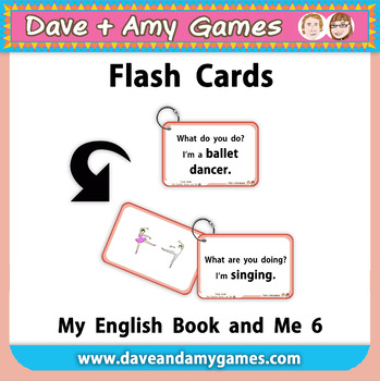 Flash Cards: My English Book and Me 6