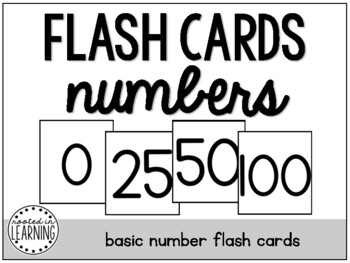 Flash Cards: Numbers 0-100