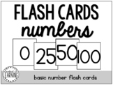 Flash Cards   Numbers 0-100