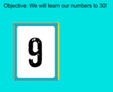 Flash Cards - Numbers to 30