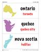 Flash Cards: Provincial & Territorial Capitals