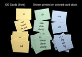 Flash Cards: Rime Cards