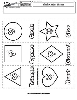 Flash Cards: Shapes