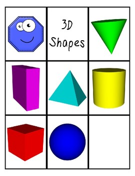 Flash Cards -Shapes