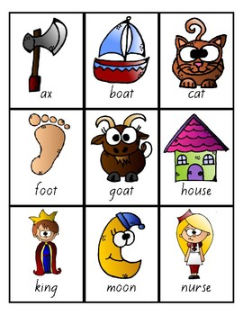 Flash Cards -Syllables