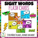 67 Te Reo Māori Sight Word Flash Cards with Syllables, Day