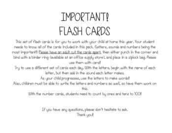 Flash Cards Traditional Print
