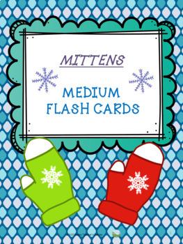 Winter Mittens - Flash Cards