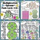 Spinner Flash Card BUNDLE Addition Subtraction Multiplication Division Facts