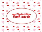 Flash Cards for Multiplication