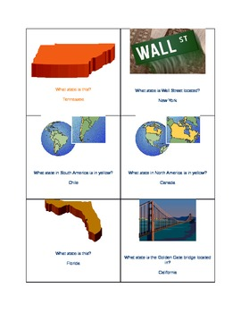 Flash Cards for the 2nd and 3rd grades